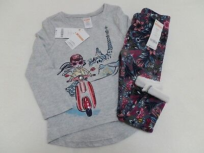 NWT Gymboree So Tropical Floral Ruffle Tunic Bloomers Baby Girl Outfit Set