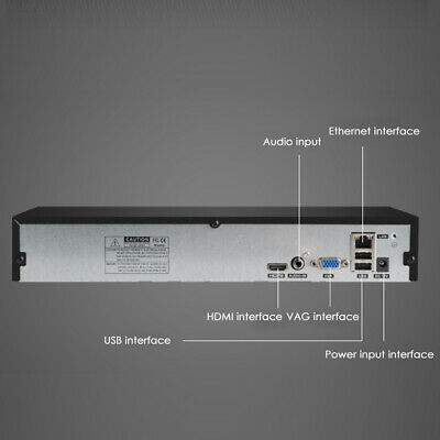 518E HDMI Network Camera POE Security Durable 8CH NVR Network Video Recorder