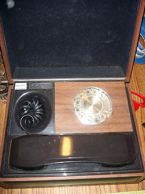 Vintage 1970's Deco-Tel Personal Telephone by Western Electric Rotary Dial