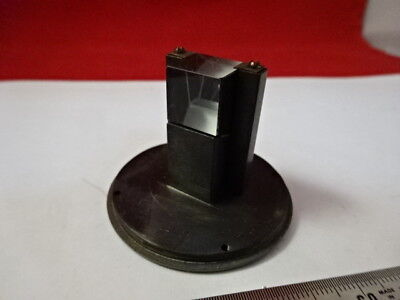 Brass Mounted Collimator 8H 2640 Prism Optics Microscope Part As Is &99-27