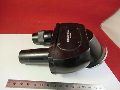 Leitz Binocular Head Optics Germany Microscope Part As Pictured &8-A-02