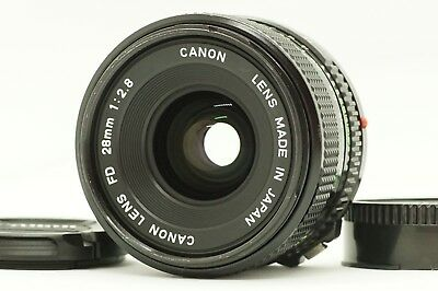 [NEAR MINT] Canon New FD NFD 28mm F2.8 MF Wide Angle Lens from Japan