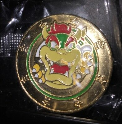 Wonder Ball Super Mario Bowser Coin Unopened - Nintendo - Rare - Video Game