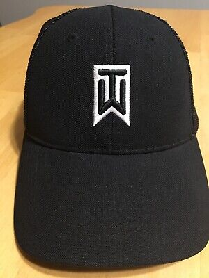 3a21e9c6640b7 Nike Golf Tiger Woods Collection FlexFit VR 20XI Hat Baseball Cap Preowned