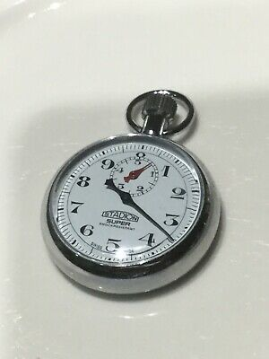 Vintage Stopwatch, Swiss Made, Stadion Super, perfect order