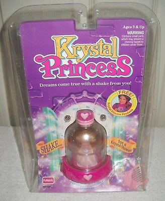 #10083 NRFP Vintage Playskool Krystal Princess Hearts Doll