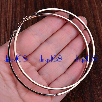 18K White Gold Filled Classic 22 inch Snake Chain Necklace 2.4mm Wide H181