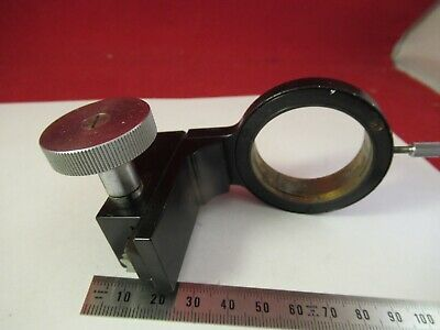 Antique Brass Leitz Germany Condenser Holder Microscope Part As Pictured &8-A-22