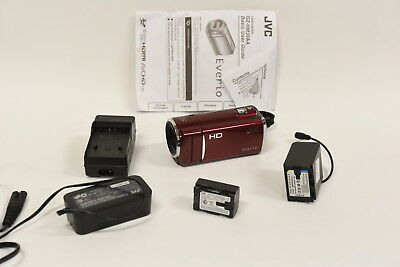 JVC Everio GZ-HM30 HD Digital Memory Card Video Camera GZ-HM30RAA