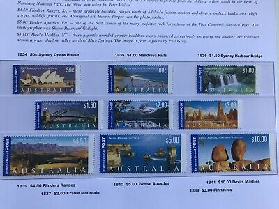 Australia 1990 The Anzac Tradition Set Of 5 Muh.