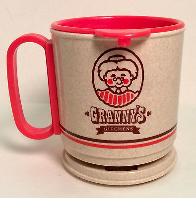 Vintage GRANNY'S KITCHENS DONUTS WHIRLEY DASHBOARD COFFEE MUG CUP advertising