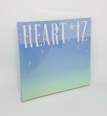 IZ*ONE 2nd Mini Album [HEART*IZ] Sapphire Ver CD+Booklet+M.Book+2p P.Card+Pop-Up