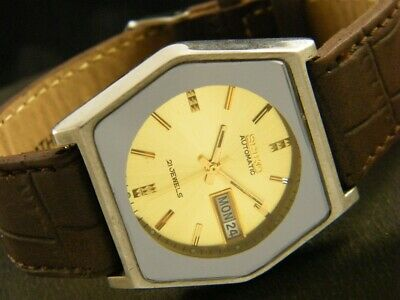 VINTAGE SEIKO 5 AUTOMATIC JAPAN MEN'S DAY/DATE WATCH 170-a116340-7
