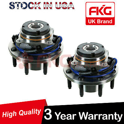 2 Front Wheel Bearing Hub Assembly for Ford F250 F350 Excursion 4x4 4WD 515056