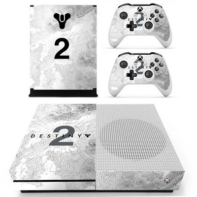 Xbox One S Console Skin Sticker Decal Destiny 2 + 2 Controller Skins