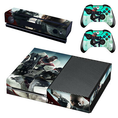 Xbox One  Console Skin Sticker Decal Destiny T2 + 2 Controller Skins
