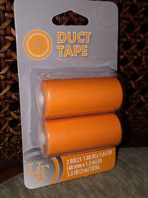 UST - Ultimate Survival Technologies - Duct Tape 2-Pack, Orange