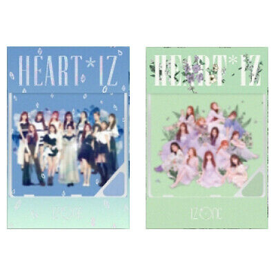 IZONE [HEART*IZ] 2nd Mini Album KIHNO Kit+12p PhotoCard+GIFT IZ*ONE K-POP SEALED