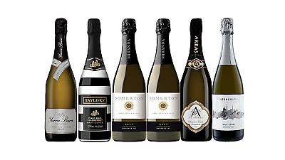 Mixed Premium Cuvée Brut Wine Pack 5-Star Winery 6 x 750mL- FREE SHIPPING