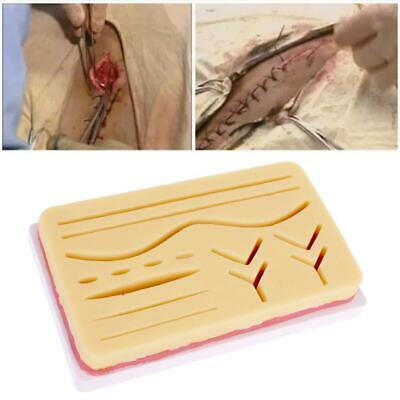 Silicone Medical Human Skin Model Suture Practice Pad Surgical Training  Tool