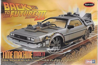 Back To The Future III, Time Machine Mk IV Final Act Delorean Snap