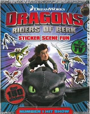 How to Train Your Dragon: Sticker Scenes Book, Igloobooks, New, Book