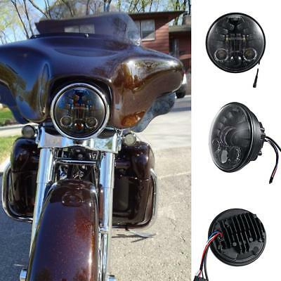 "Universal 5.75"" PAR46 Replacement Headlig LED Adaptive Fits Harley Softail Dyna"