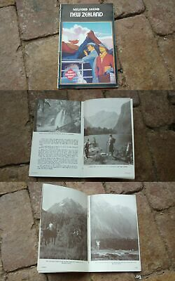 1930s NEW ZEALAND MILFORD SOUND TOURISM BOOKLET, 28 PAGES