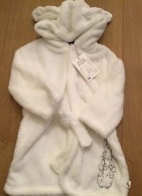 Mothercare Peter Rabbit Baby Boys / Girls Dressing Gown 9-12 Months 🐰 Bnwt 🐰