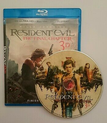 Resident Evil: The Final Chapter [3D Blu-ray Disk] **Region Free**
