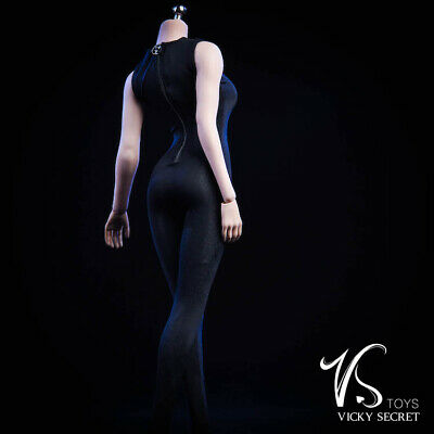 """VSTOYS 1//6 Female Jumpsuits Long//short Sleeve Siamese tights f//12/"""" action figure"""
