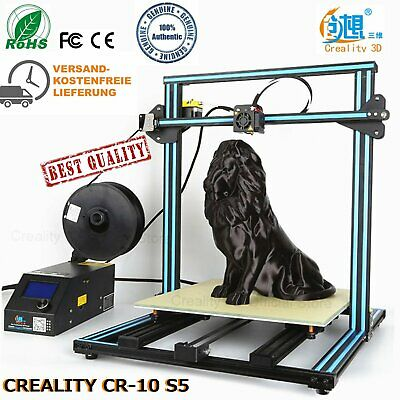 CR-10S5 Dual Z Rods Filament Monitor Resume after Power Off 500x500x500 DE DHL