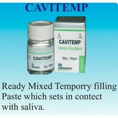 Cavitemp Dental Temporary Filling Material Cement 30 gram FREE SHIPPING
