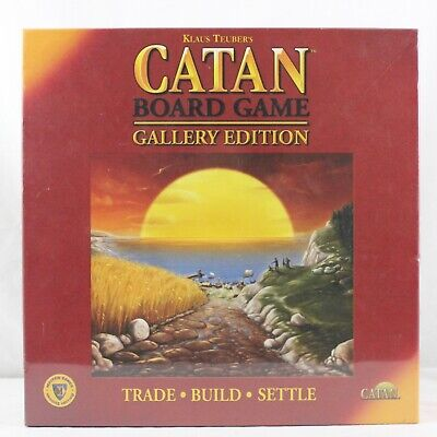 Klaus Teubers Catan Board Game Gallery Edition Trade Build Settle BRAND NEW SEAL