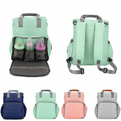 Multi-function Mummy Maternity Baby Nappy Diaper Bag Travel Backpack Handbag BH