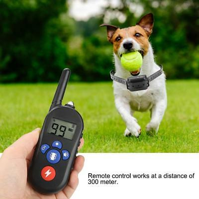 Pet Training No Bark Dog Collar Remote Control Waterproof Rechargeable BH
