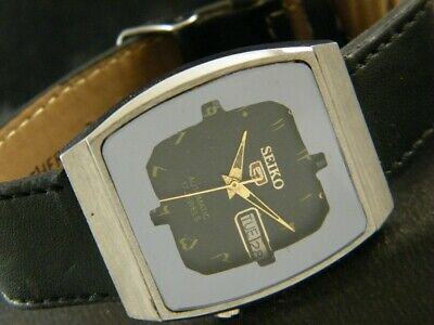 VINTAGE SEIKO 5 AUTOMATIC JAPAN MEN'S DAY/DATE WATCH 204-a121108-5