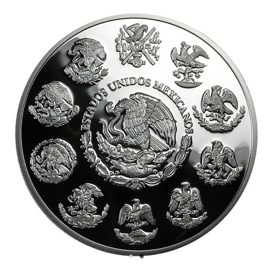 Libertad Onza 5 OZ 2019 Silber Silver PP Proof Argent Mexiko Mexico Mexique