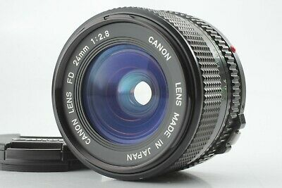 【Near Mint+++】Canon New FD 24mm F2.8 Lens From Japan  #3411