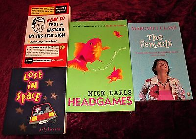 "L@@k!""new Age"" -"" Newage Humour Chick Lit""  Book Lot- Bj19"