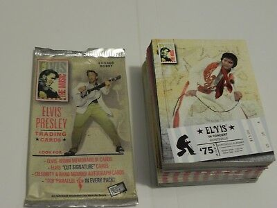 Elvis The Music Trading Card Base Set ( 81 )  2007