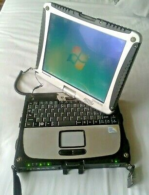 Panasonic Toughbook CF-19 mk3 3GB ram 500GB HD W7 pro 7760 hours. priced to sell