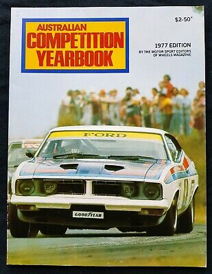 AUSTRALIAN COMPETITION YEARBOOK 1977 Bathurst Gran Prix Ford V8 Holden Torana