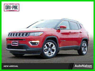 2019 Jeep Compass Limited 2019 Limited Used 2.4L I4 16V Automatic Front Wheel Drive SUV