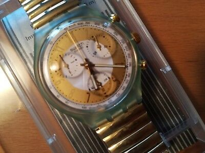 Swatch CHRONO SCG 100/1 GOLDEN GLOBE