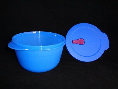 FREE SHIP Tupperware CrystalWave PLUS Stain Guard 8.5 C/ 2 L round microwave NEW
