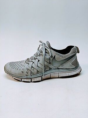 new style 1bf8a 73b07 NIKE FREE TRAINER 5.0 V4 Fingertrap 579809-001 Pure Platinum Mens 9.5 EUR 43