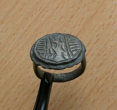 Nice Ancient Roman Large Bronze Ring - Detector Find.