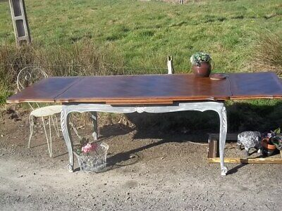 quality  vintage  extending french farmhouse dining table louis xv style