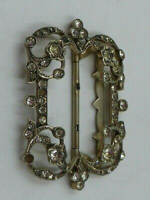 Interesting Silver Paste Buckle